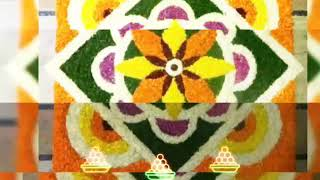 Beautiful Flowers Rangoli Designs Collection||Real Flowers Rangoli Special For Diwali||
