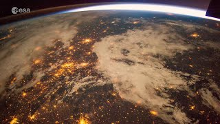 Time-lapse from Africa to Eastern Europe