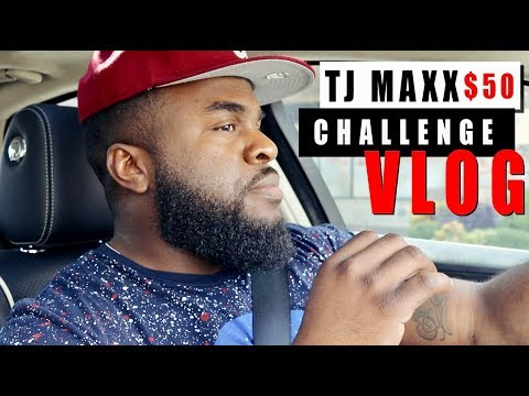 The $50 TJ Maxx Challenge  Fragrance Shopping with Big Beard Business