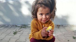 Ayşe Ebrar Kuş Şeklinde Sürpriz Yumurta Aldı Çok Sevdi. Eğlenceli Çocuk Videosu
