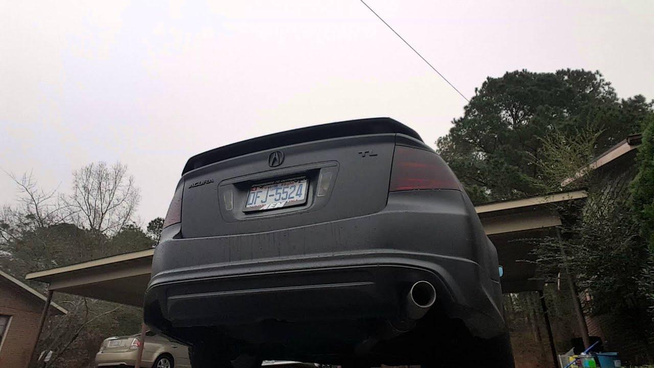 Acura Tl Custom Exhaust YouTube - 2004 acura tl custom