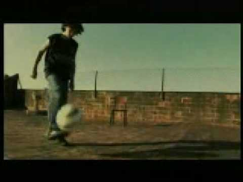Anuncio de Nike con un joven Messi