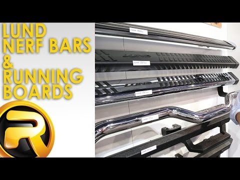 Lund Nerf Bars & Running Boards