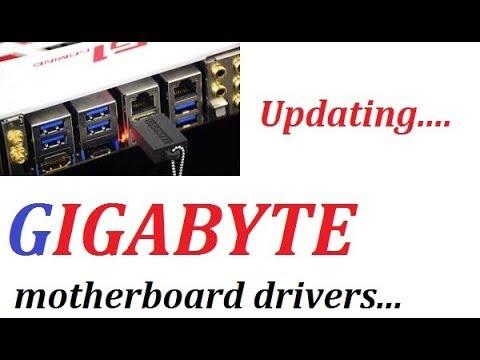 gigabyte motherboard last driver install - last driver installer