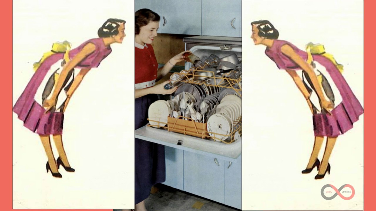 A Womans Place In The Kitchen HD 1950s