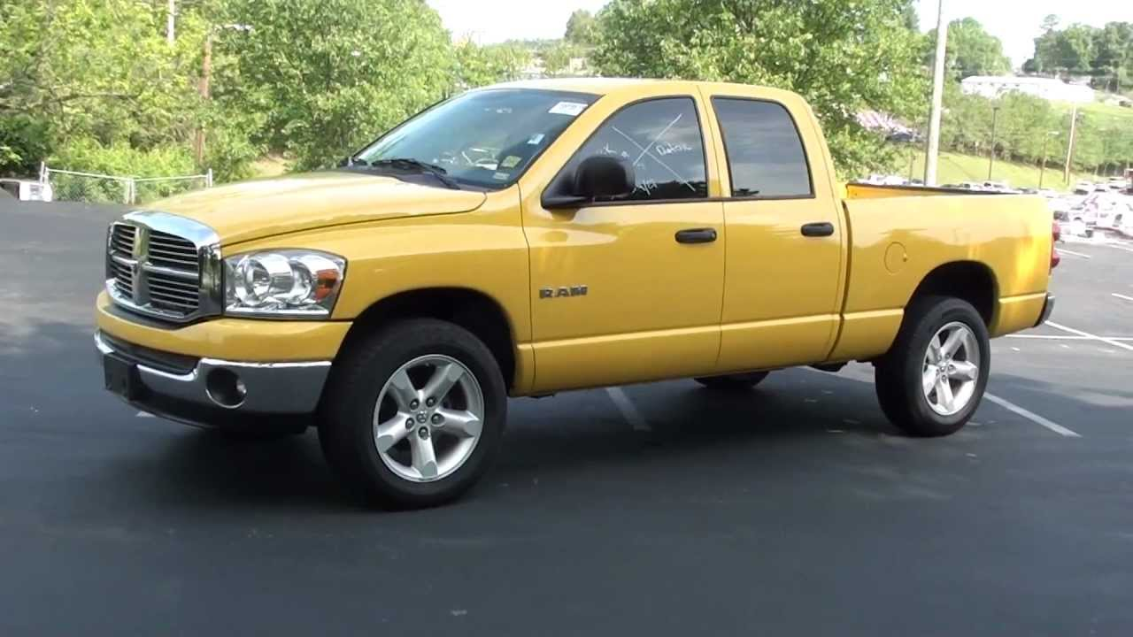 For Sale 2008 Dodge Ram 1500 Big Horn Edition   39k Miles   Stk  P6202  Lcford Com