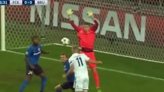 Копенгаген — Брюгге — 4:0. Видео обзор матча. Лига чемпионов. 2-й тур