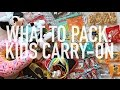 WHAT TO PACK IN KIDS CARRY ON BAG - LONG HAUL FLIGHT   Charlotte Taylor   Charlotte Taylor