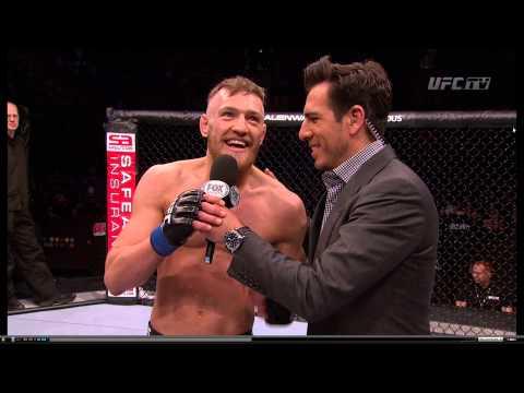 UFC Conor McGregor: Dana, 60 Gs BABAYYYYY! (1080p HD)