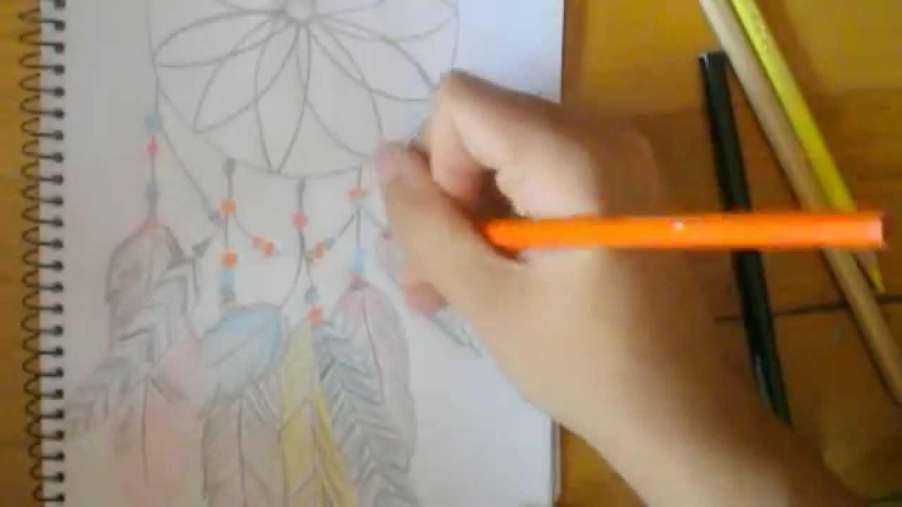 Tutorial Dibujo Atrapasueños Esther Scrap Youtube