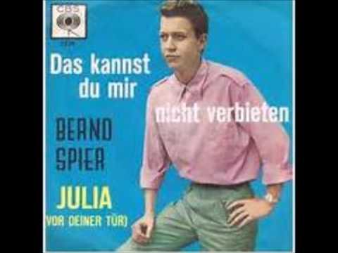 Das Kannst Du Mir Nicht Verbieten  -   Bernd Spier 1964
