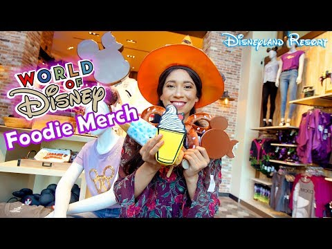 New! MUST HAVE Foodie Merch From The World Of Disney Store!! | Disneyland Resort