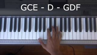 How to Play Some Nights by Fun on Piano Mp3