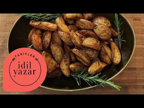 Fırında Patates Nasıl Yapılır ? | İdil Yazar | Yemek Tarifleri