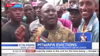 Police shot a number of Mtwapa squatters over disputed land