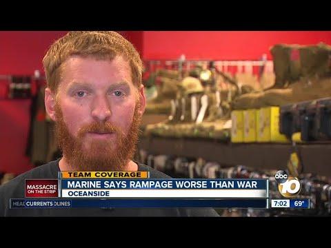 Marine says Vegas rampage was worse than war