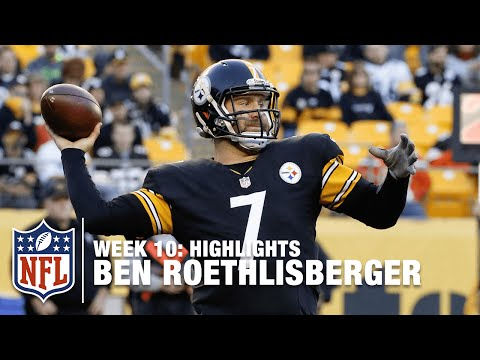 Ben Roethlisberger Highlights (Week 10) | Browns vs. Steelers | NFL