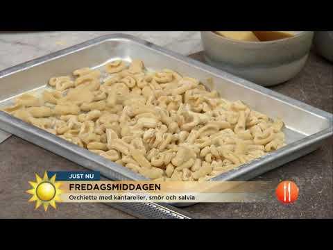Sensommarens smaker på tallriken - Nyhetsmorgon (TV4)