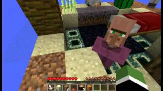 Minecraft: Oceanblock Survival: Drowning Testies and Failure
