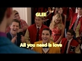 Glee All You Need Is Love Lyrics Letra mp3
