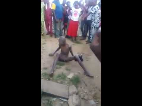 Singing Boy found inside a moulded wall in Ondo state