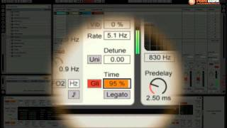 Ableton Sound Design Tutorial - Glide in Analog