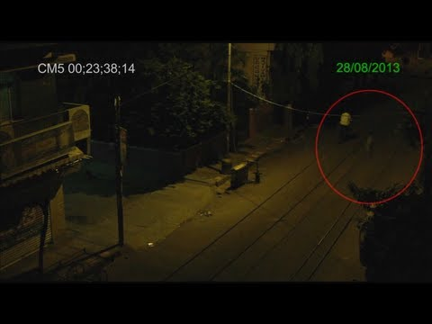 Real Ghost shot on CCTV footage in Bangalore from YouTube · Duration:  1 minutes 30 seconds