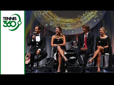 Roger Federer and others ring New Year in style at 2018 Hopman Cup gala