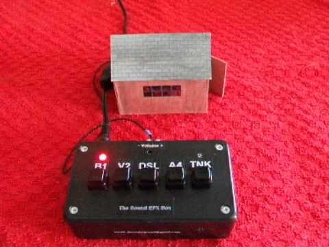 The Sound EFX Box for O & OO Scale / Gauge Model Railway's