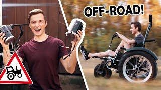 Ist das noch ein Rollstuhl? | MOTOREN für den OFFROAD ROLLSTUHL! (Das hätte Philipp nicht erwartet)