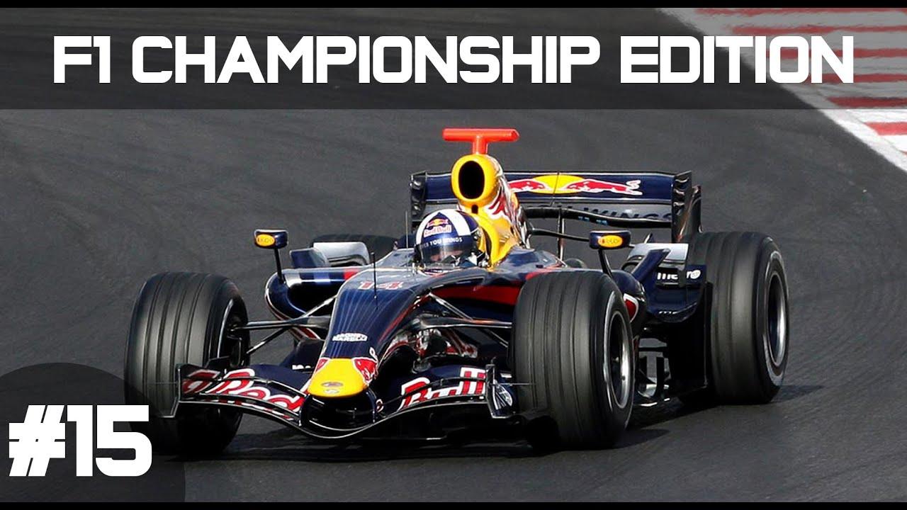 Formula One Championship Edition Career Mode - Round 15 Italian Grand Prix  (PS3 Gameplay)