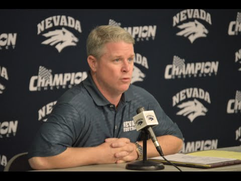Nevada Football Weekly Press Conference - Sept. 15, 2015