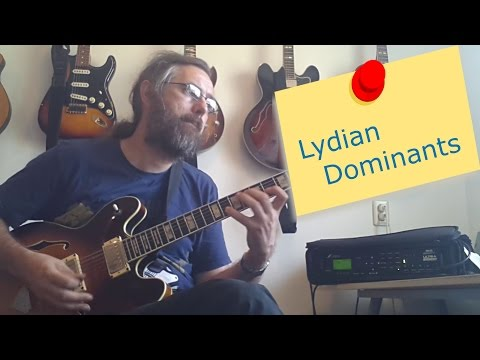 Melodic Minor - Lydian Dominant