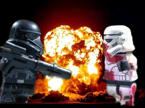 DeathTrooper vs DeathTrooper | Lego Star Wars Stop Motion Animation