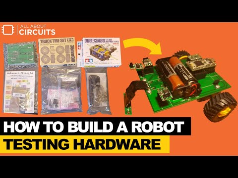How to Build a Robot - Testing Hardware