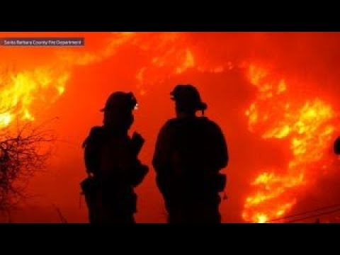 Calif. firefighters cautiously optimistic as winds die down