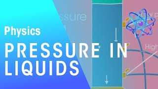 Pressure in liquids | Matter | Physics | FuseSchool