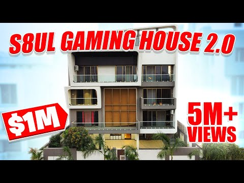 The MOST LUXURIOUS GAMING FACILITY in INDIA | First Glimpse at S8UL 2.0 ONE MILLION $ FACILITY