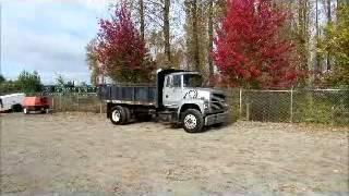 Sold! Ford L7000 S/A 8.5 Yard Dump Truck PTO Cummins 5.9L Turbo bidadoo.com