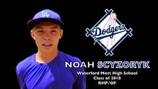 Noah Scyzoryk   Waterford Mott HS 2018 Right Handed Pitcher