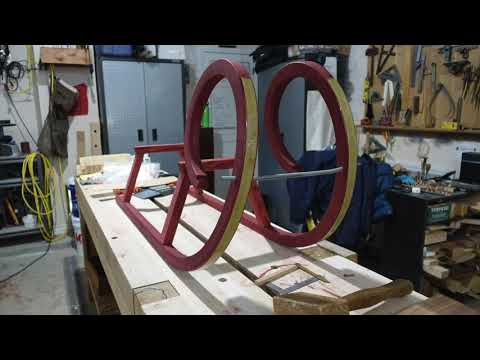 Shipwright Skills: Building the Rams Horn Sled - Part 2