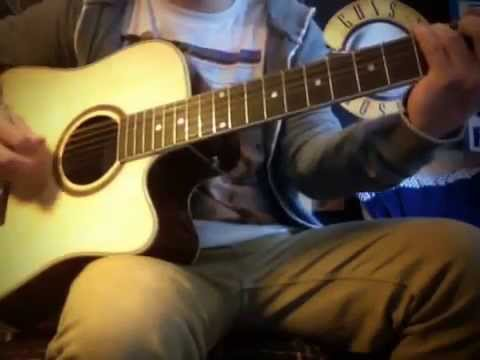 Classic Riffs Played on a 12 String Acoustic Guitar