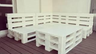 Идеи мебели из поддонов ,поллетов.loft-style furniture