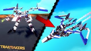 Crazy Transforming Flyer and Other Best Creations! - Trailmakers Early Access Gameplay