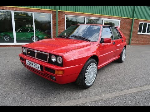 SOLD 1991 Lancia Delta HF Integrale 16V 4WD Evolution For Sale in Louth Lincolnshire