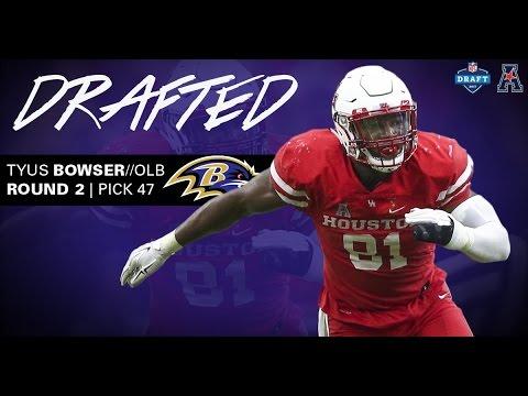 Baltimore Ravens Select Houston
