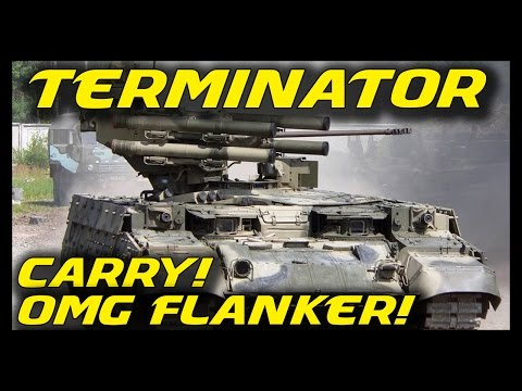 ► Armored Warfare: Terminator Epic Action - OMG, What a Flanker! - Premium Tank Terminator Gameplay
