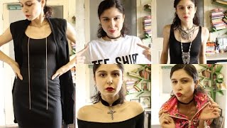 How To Style Chokers!!!