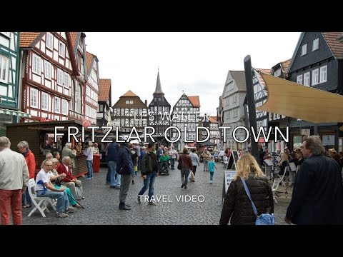 Fritzlar Old Town Germany Europe Travel Video Tourism
