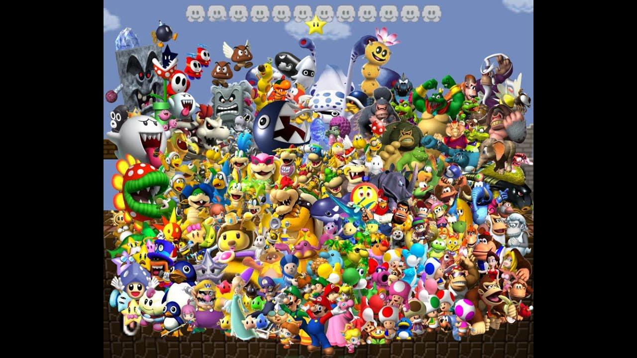 Top 10 Mario Character...